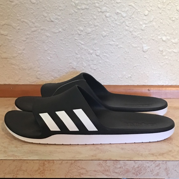 1a46e1183f3 adidas Other - New Men s Adidas Black And White Sandals ...